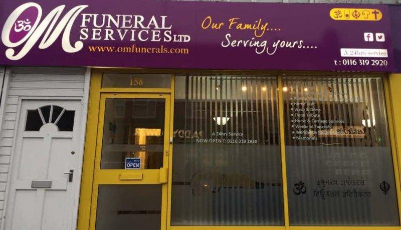 Om funeral service
